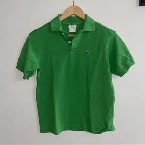 Lacoste Polo Green Size 14
